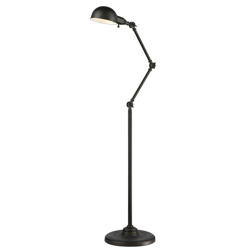 Maxon 62.5 in. Olde Bronze Floor Lamp