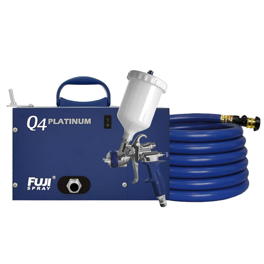 Fuji Spray Q4 Platinum T75g Gravity Hvlp Spray System