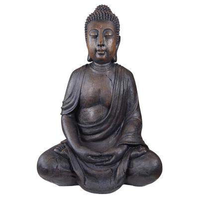 40 in. H Meditative Buddha of The Grand Temple Large Garden Statue