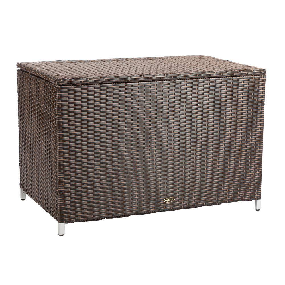 Hayden 58 Gal. Wicker Deck Box