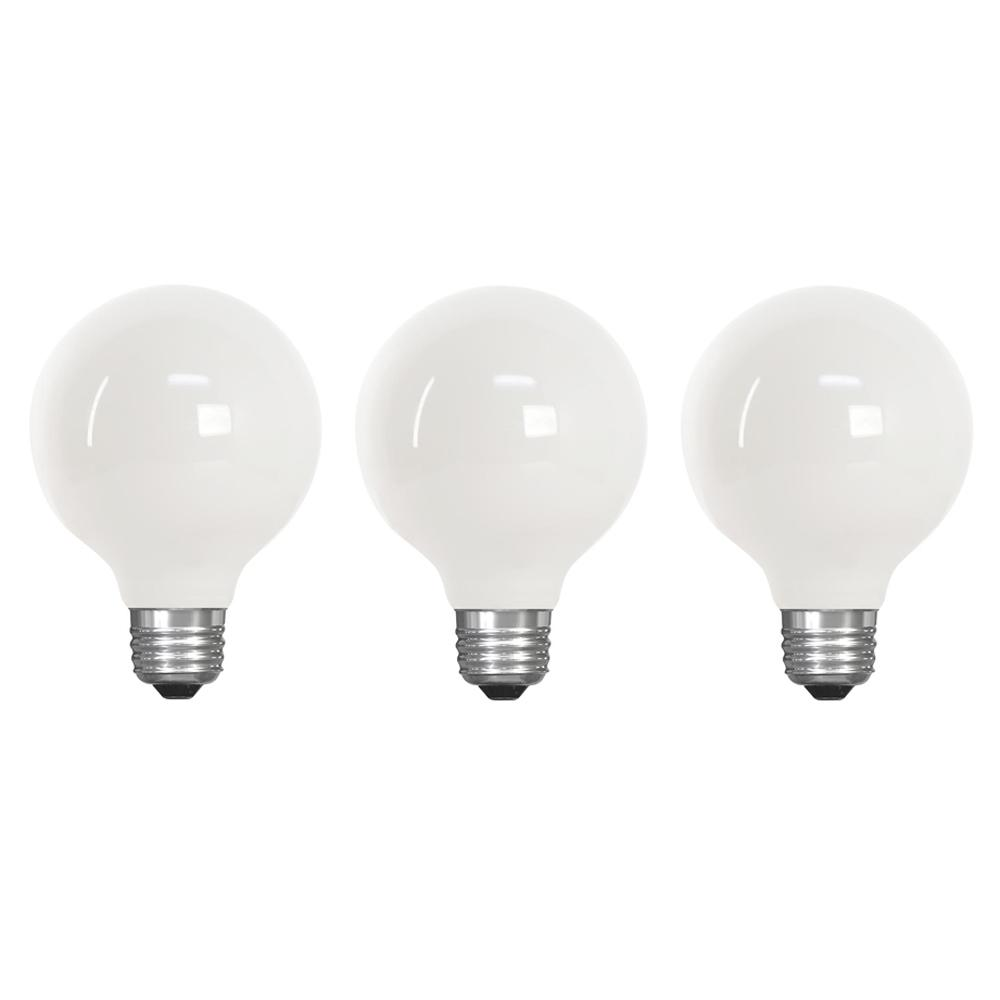 Feit Electric 40w Equivalent Daylight G25 Dimmable Clear: Feit Electric 40-Watt Equivalent G25 Dimmable Filament CEC