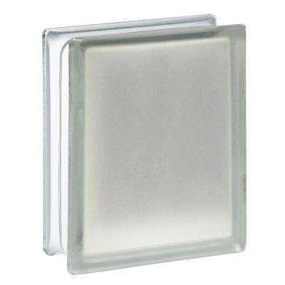 5.75 in. x 7.75 in. x 3.12 in. Frosted Pattern Glass Block (10-Pack)