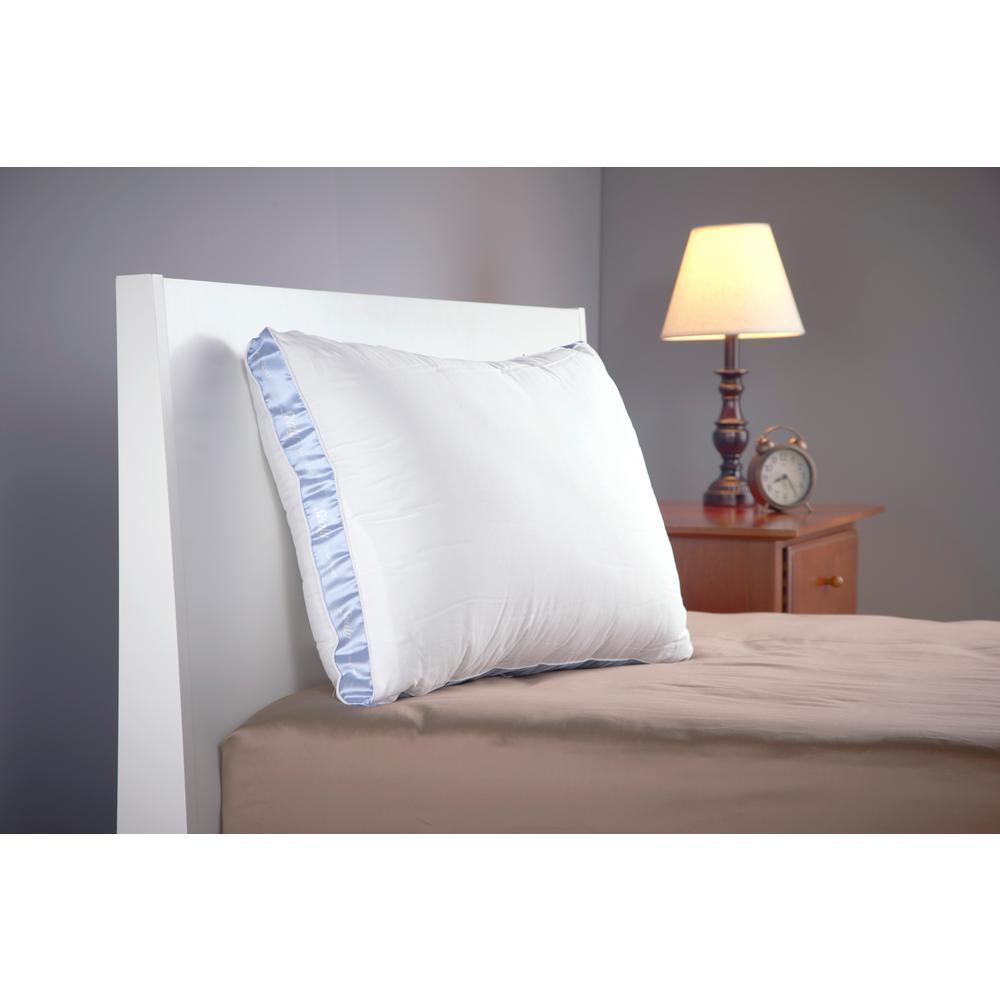 100% Cotton Jumbo Down Alternative Firm Support Pillow