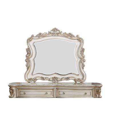 Gorsedd Antique White Mirror