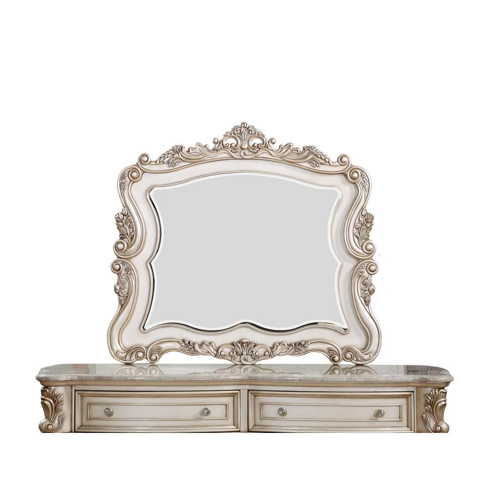 Gorsedd Antique White Mirror