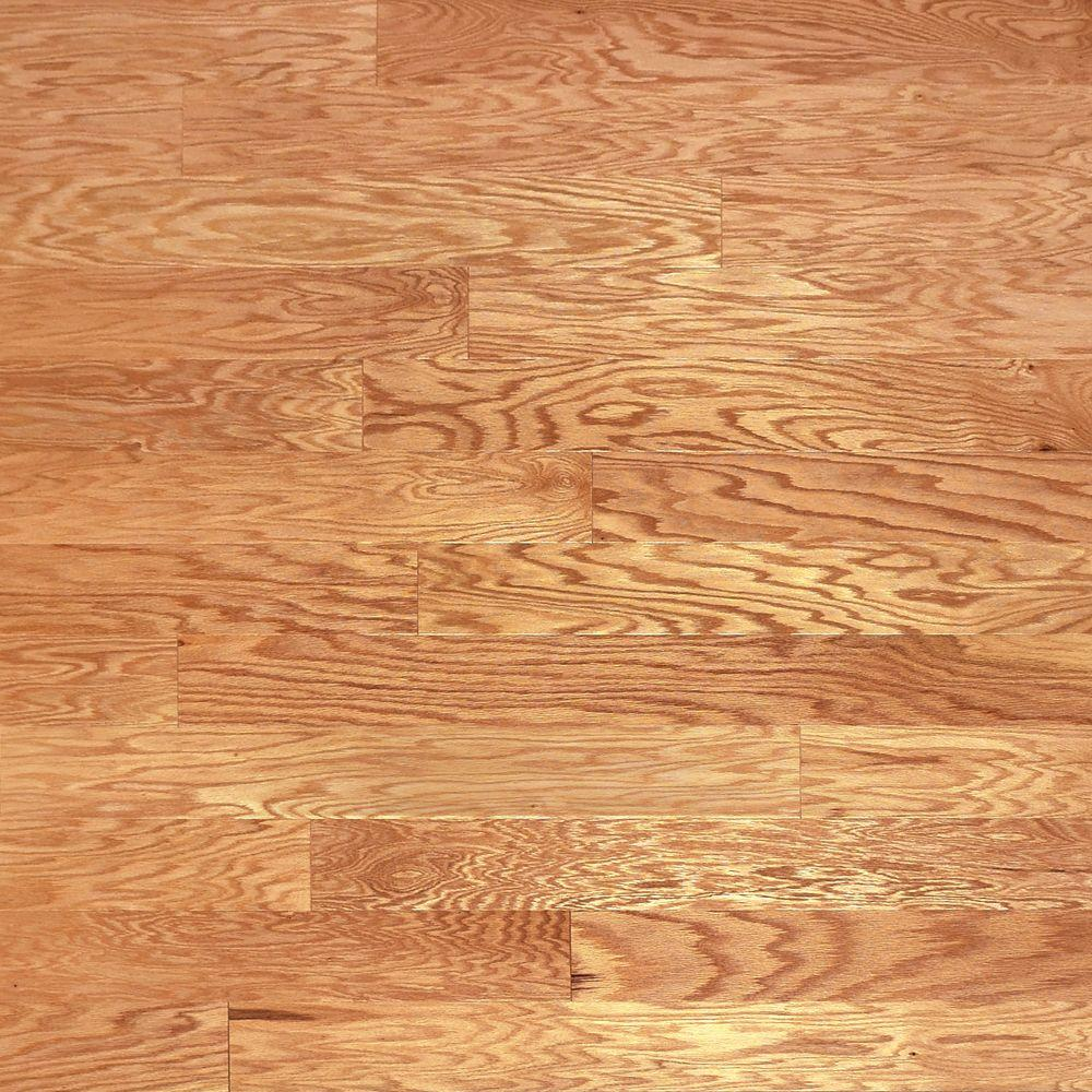 Heritage Mill Red Oak Natural 3/8 in. Thick x 5 in. Wide x Random Length Engineered Hardwood Flooring (24.15 sq. ft. / case)