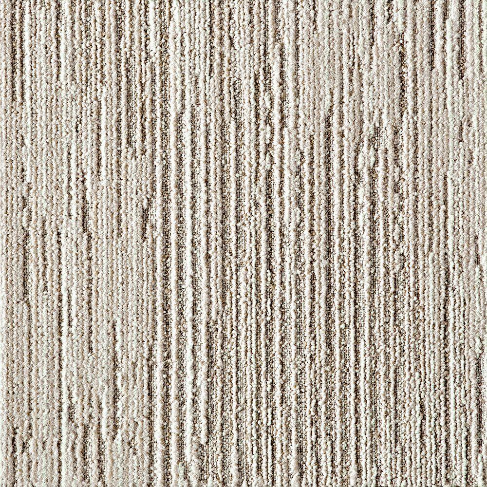 Fully Barked Tundra 19.7 in. x 19.7 in. Carpet Tile (6 Tiles/Case)