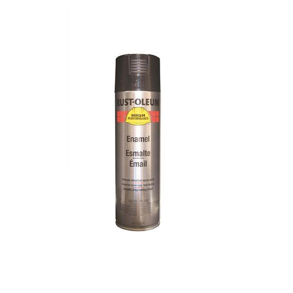 Rust Preventative Flat Black Spray Paint