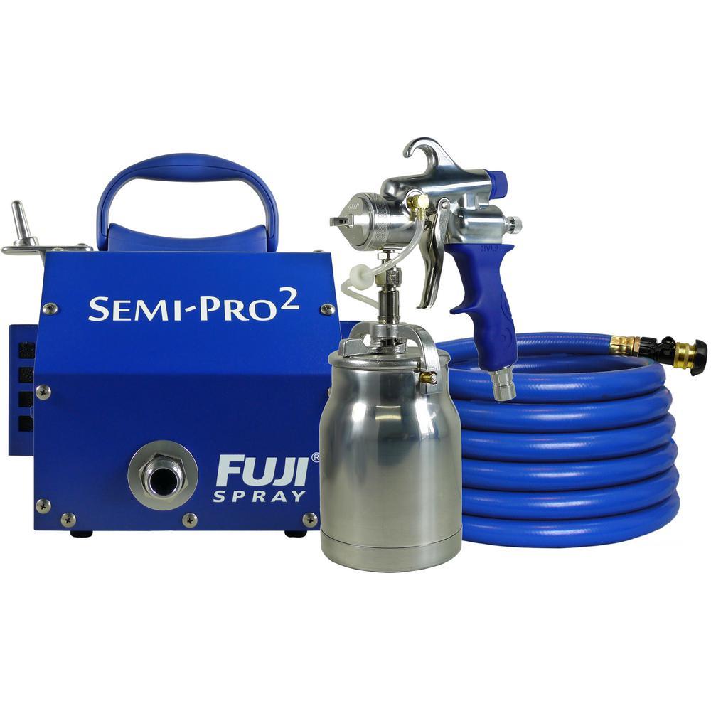 Fuji Spray Semi Pro 2 Hvlp Spray System 2202 The Home Depot