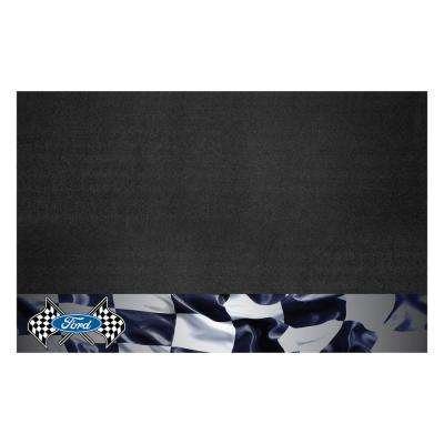 Ford - Ford Flags 42 in. x 26 in. Vinyl Grill Mat