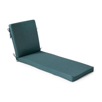 Universal 21 in. x 24 in. x 4 in. Deluxe Outdoor Chaise Cushion in Charleston