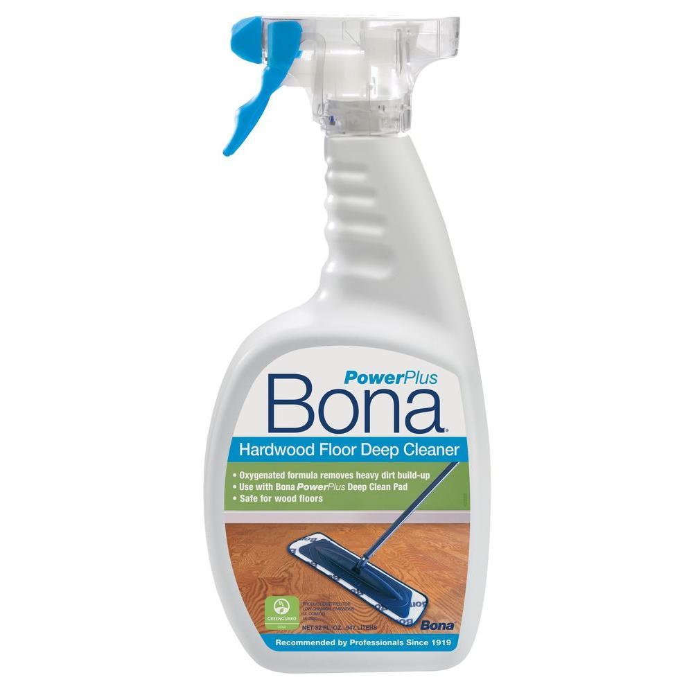 Bona 32 Oz. PowerPlus Deep Clean Hardwood Floor Cleaner WM850051001   The  Home Depot