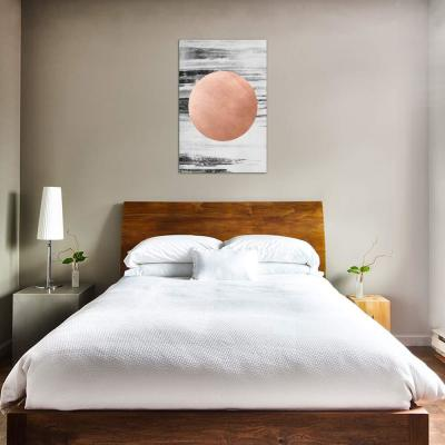 """""""Rose Gold I"""" by LEEMO Canvas Wall Art"""