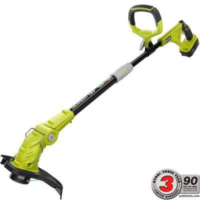 ONE+ 18-Volt Lithium-Ion Cordless String Trimmer/Edger - 2.6 Ah Battery and Charger Included