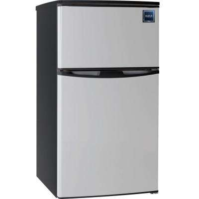 3.2 cu. ft. Mini Refrigerator in Stainless