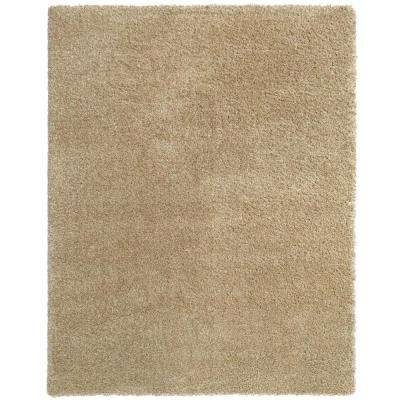 Hanford Shag Beige 4 ft. x 6 ft. Area Rug