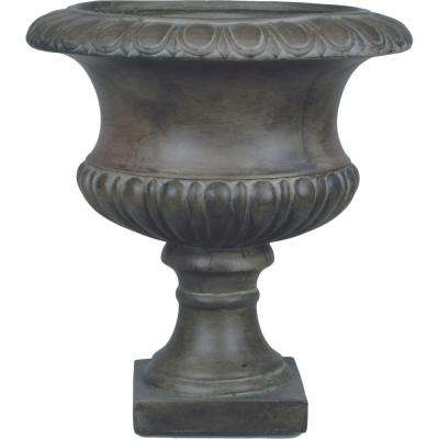 Origins Classic 19 in. Pewter Short Urn Planter