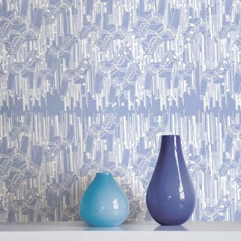 Dala Blue Horse Wallpaper