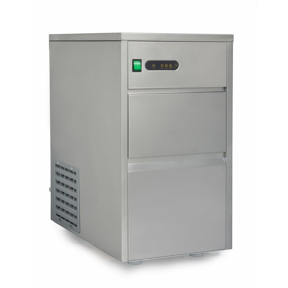 Spt 44 Lb Freestanding Automatic Ice Maker In Stainless