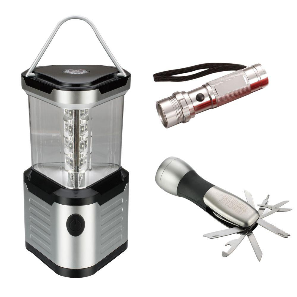 Think Tank LED Flashlight and Lantern Camping 3-Pack
