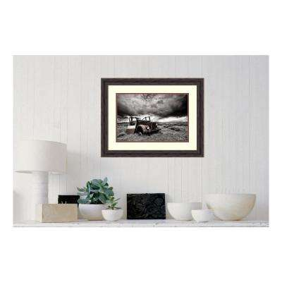 27 in. W x 21 in. H 'Roofless' by Þorsteinn H. Ingibergsson Printed Framed Wall Art