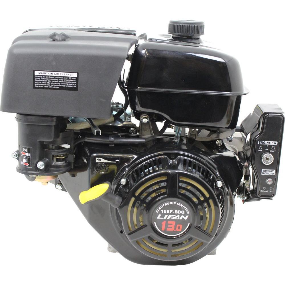 LIFAN 5/8 in  3 HP 97 7cc OHV Recoil Start Horizontal Shaft