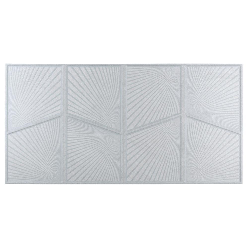 Mural Austral Blanco 12-1/2 in. x 24-1/2 in. Porcelain Wall Tile (10.96 sq. ft. / case)