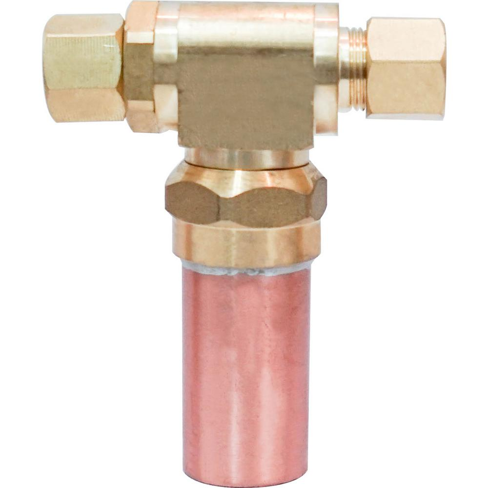 Dyconn 3/8 in. x 3/8 in. Water Hammer Arrestor Compression Tee