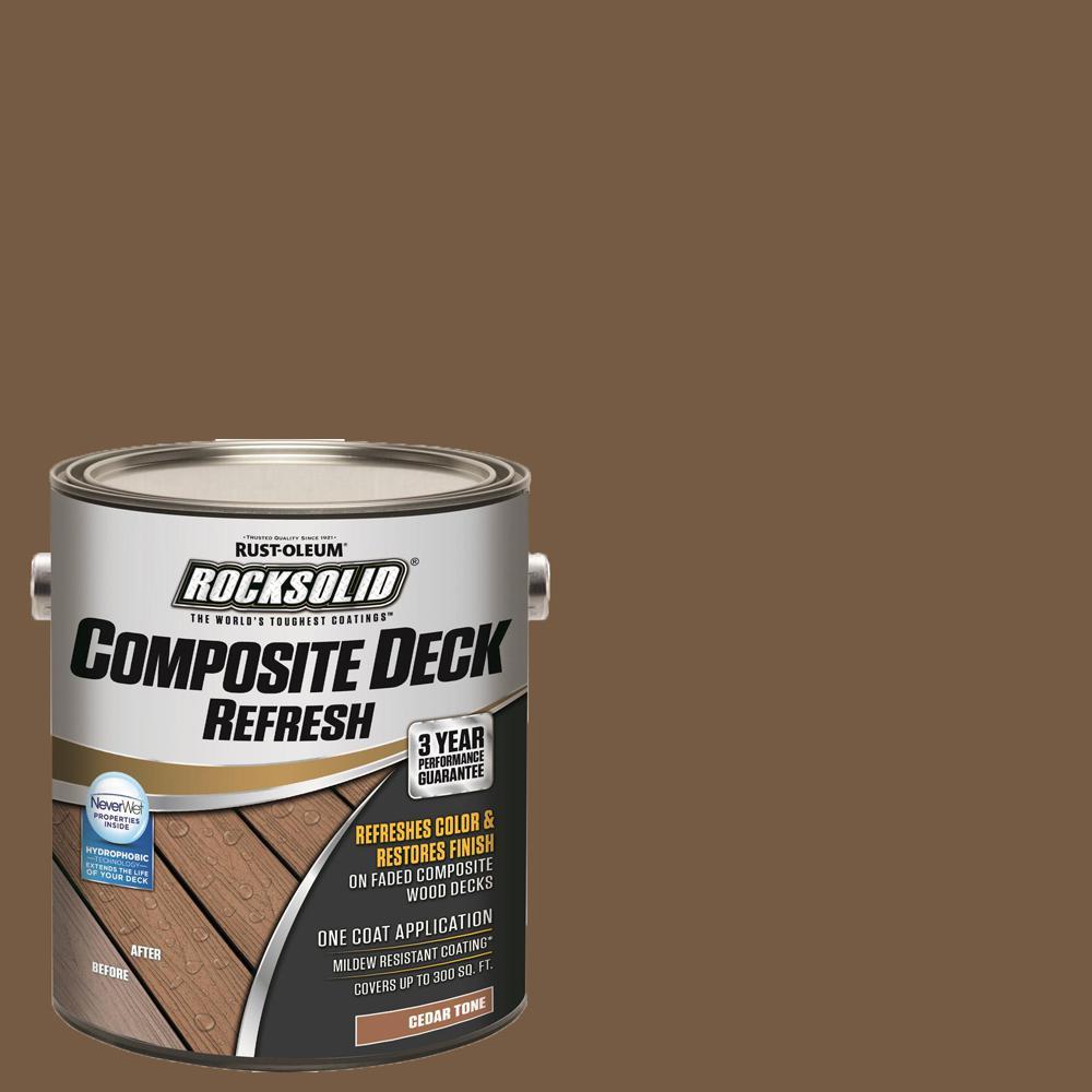 1 Gal. Cedar Composite Deck Coating (2 Pack)
