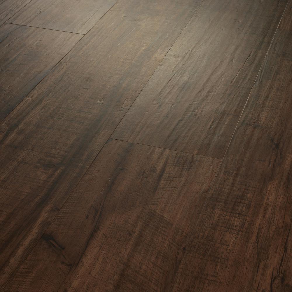 Take Home Sample - Breckenridge Bayou Click Lock Vinyl Plank Flooring - 5 in. W x 7 in. L