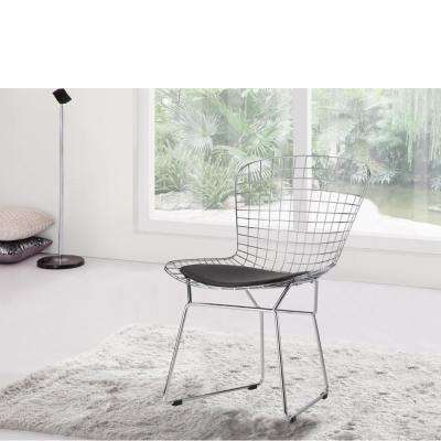 Wire Black Side Chair