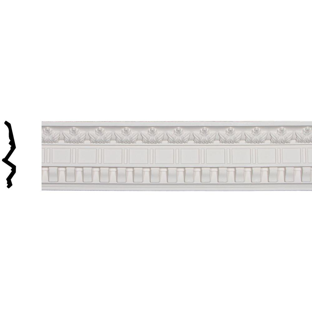 Ekena millwork 3 7 8 in x 5 in x 96 1 4 in polyurethane for Millwork definition