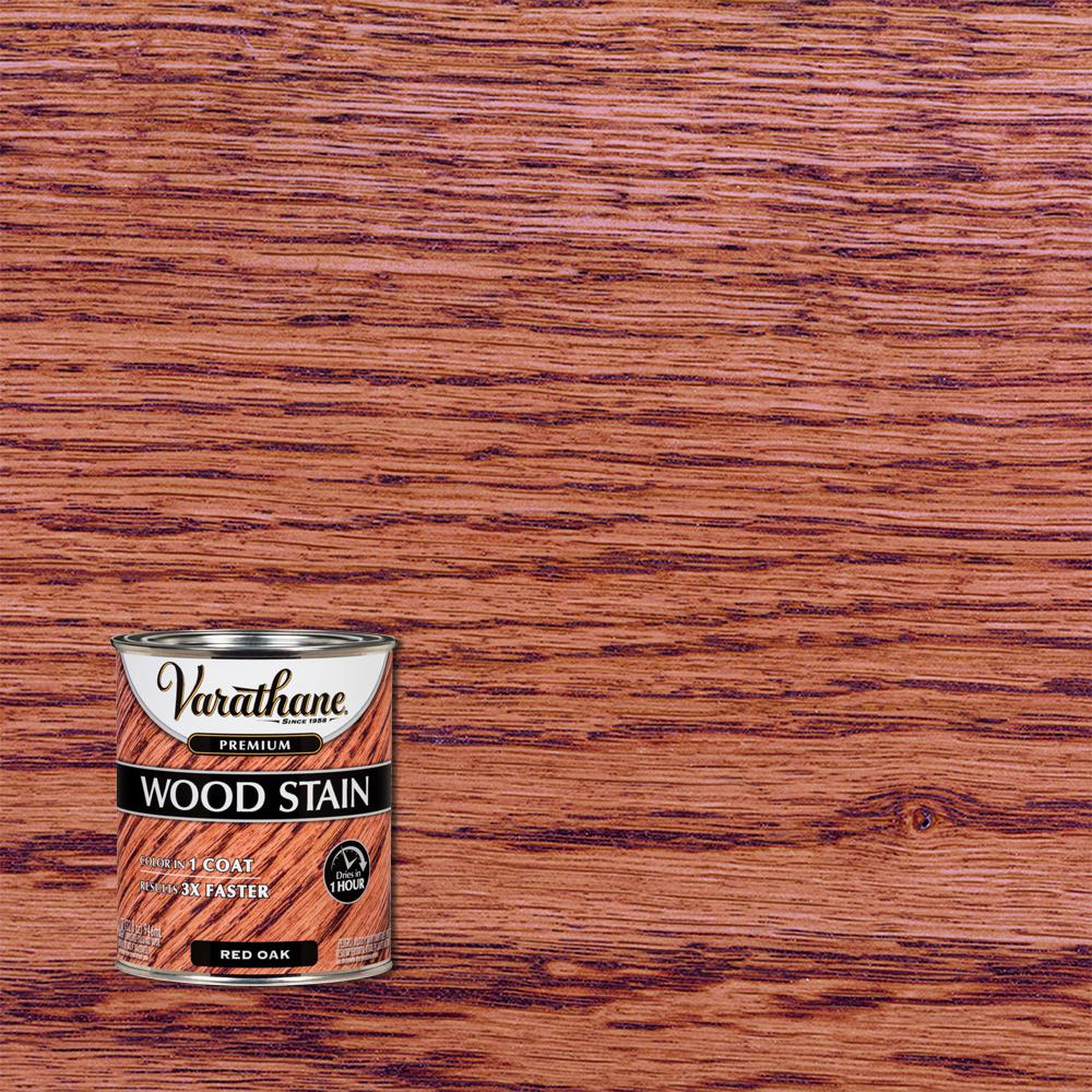 Varathane 1 qt. Red Oak Premium Fast Dry Interior Wood Stain (2-Pack)