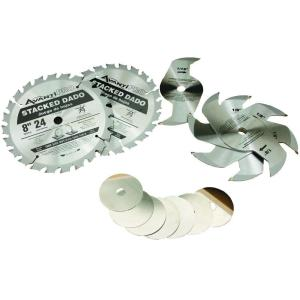 Avanti Pro 8 inch x 24-Teeth Stacked Dado Saw Blade Set by Avanti Pro