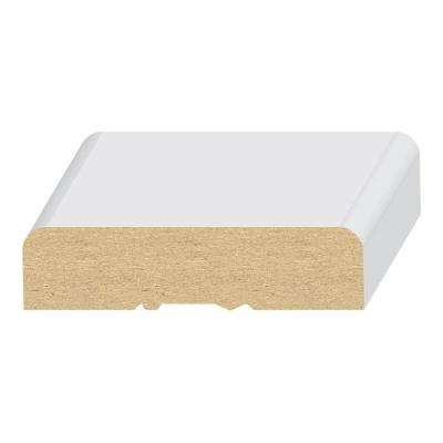 2RE #120 5/8 in. x 2-1/4 in. x 80 in. Primed MDF Casing