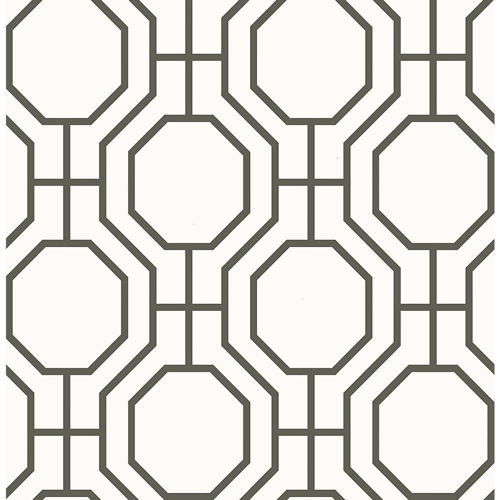 Circuit Black Modern Ironwork Wallpaper Sample