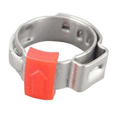 1/2 in. Stainless Steel PEX Barb Pro Pinch Clamp (10-Pack)