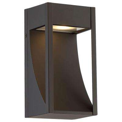Oil Rubbed Bronze Outdoor LED Wall Mount Lantern