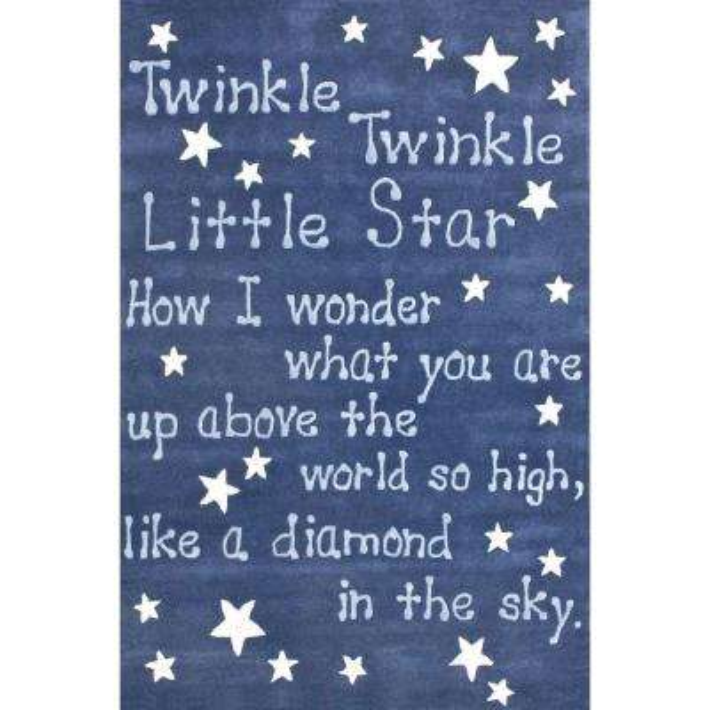 Twinkle Twinkle Sky 4 ft. x 6 ft. Area Rug