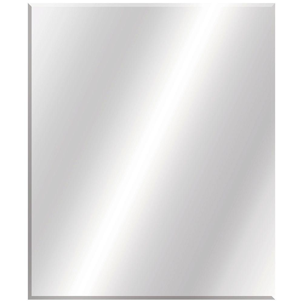 Glacier Bay 30 In W X 36 In L Beveled Edge Bath Mirror