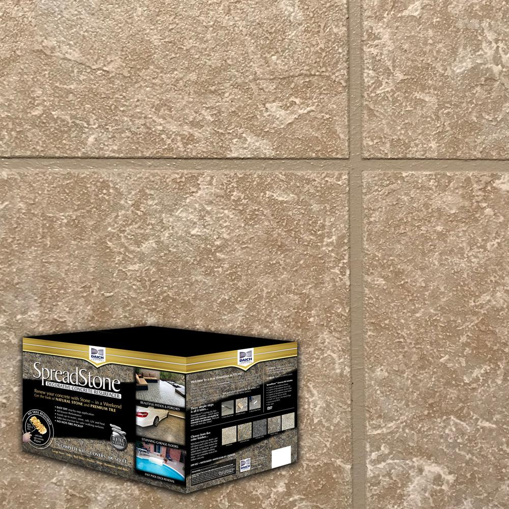 Daich spreadstone spreadstone 2 5 gal sun ledge satin - Exterior concrete resurfacing products ...