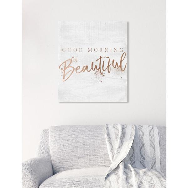 Travel My Therapy Quote Print Poster Rose Gold Wall Art