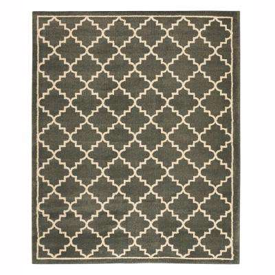 gray - geometric - 10 x 13 - area rugs - rugs - the home depot