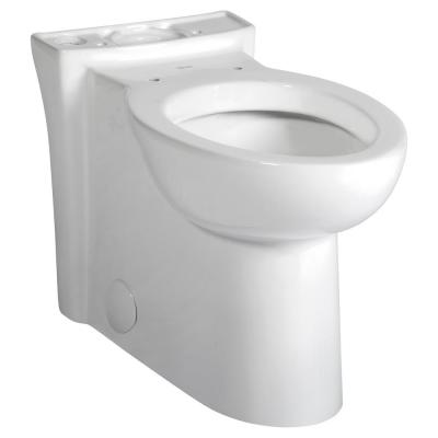 Studio Chair Height 1.6 GPF Elongated Toilet Bowl Only in White