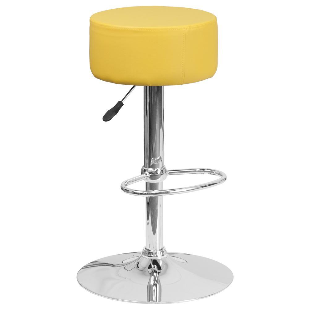 Lovely Flash Furniture Adjustable Bar Stool