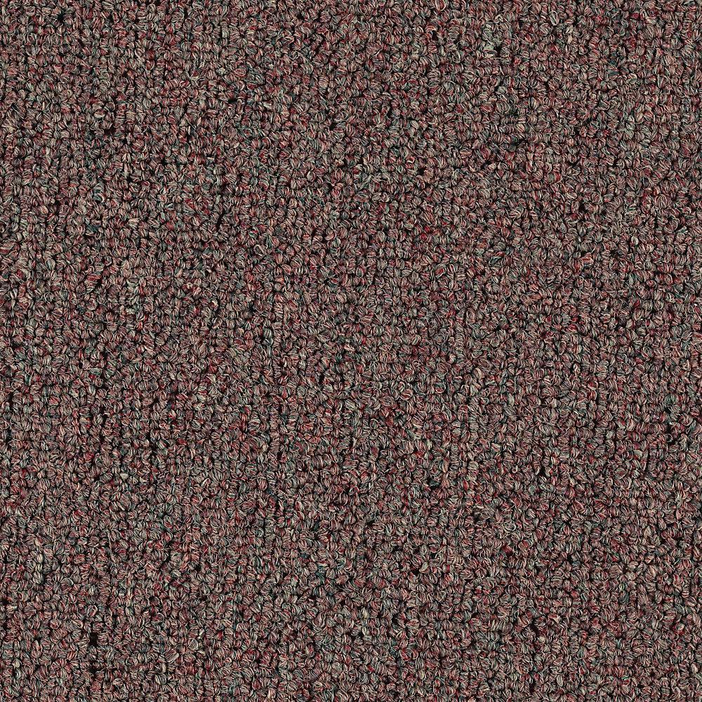 Top Rail 26 - Color Rockweed Loop 12 ft. Carpet