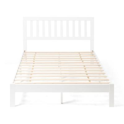 Norgate  White Wood Queen Bed Frame