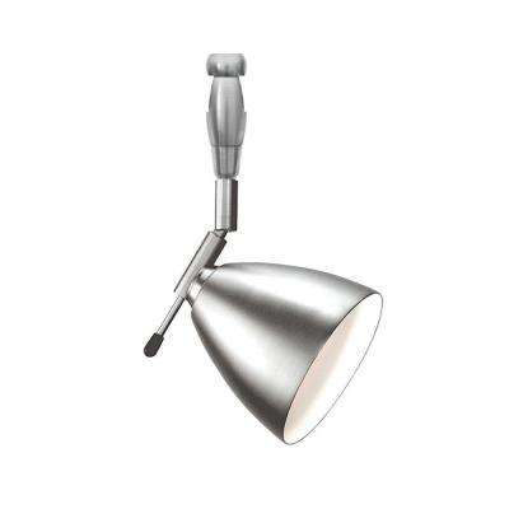 Orbit Swivel I 1-Light Satin Nickel Track Lighting Head