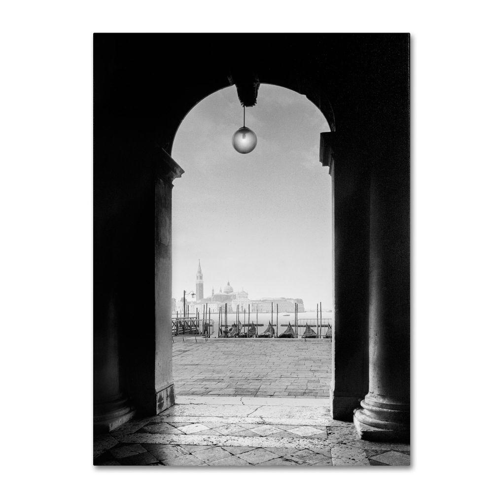 Trademark Fine Art 32 in. x 22 in. Venetia View Canvas Art