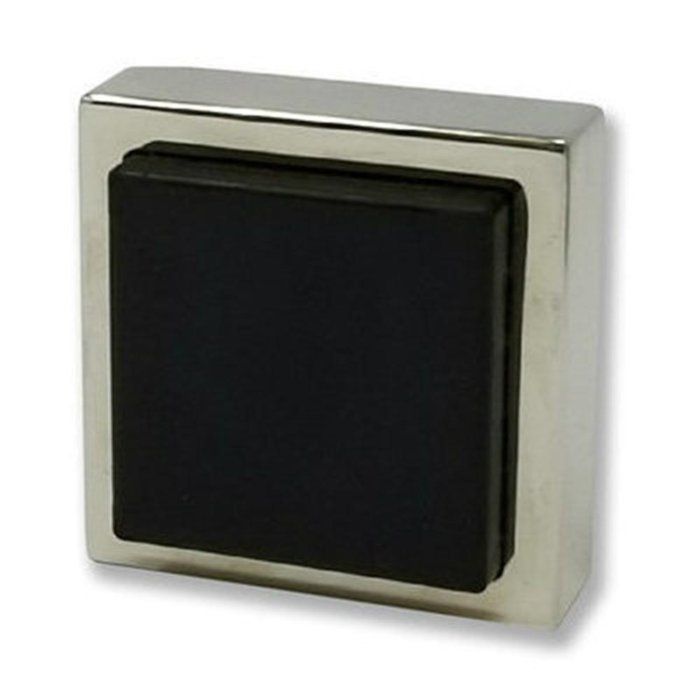 Strongar Square Polished Stainless Steel Wall Mounted Stop For Doors 5 Pack